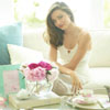 Miranda Kerr's new silver plated giftware collection for Royal Albert